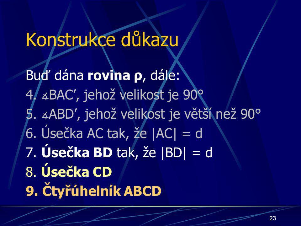 22 úsečka CD