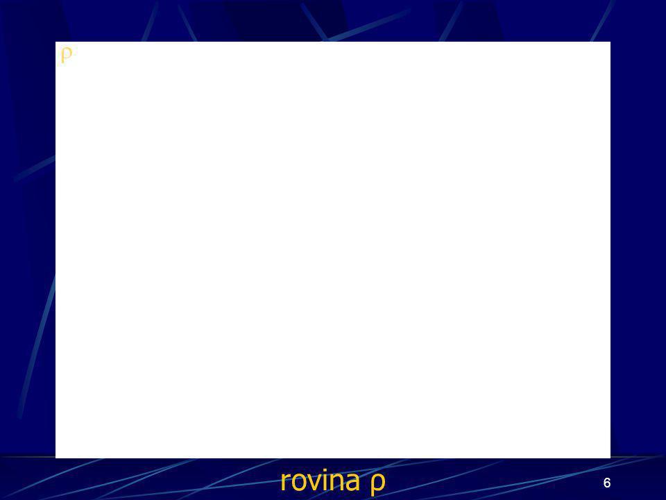 5 Konstrukce důkazu Buď dána rovina ρ