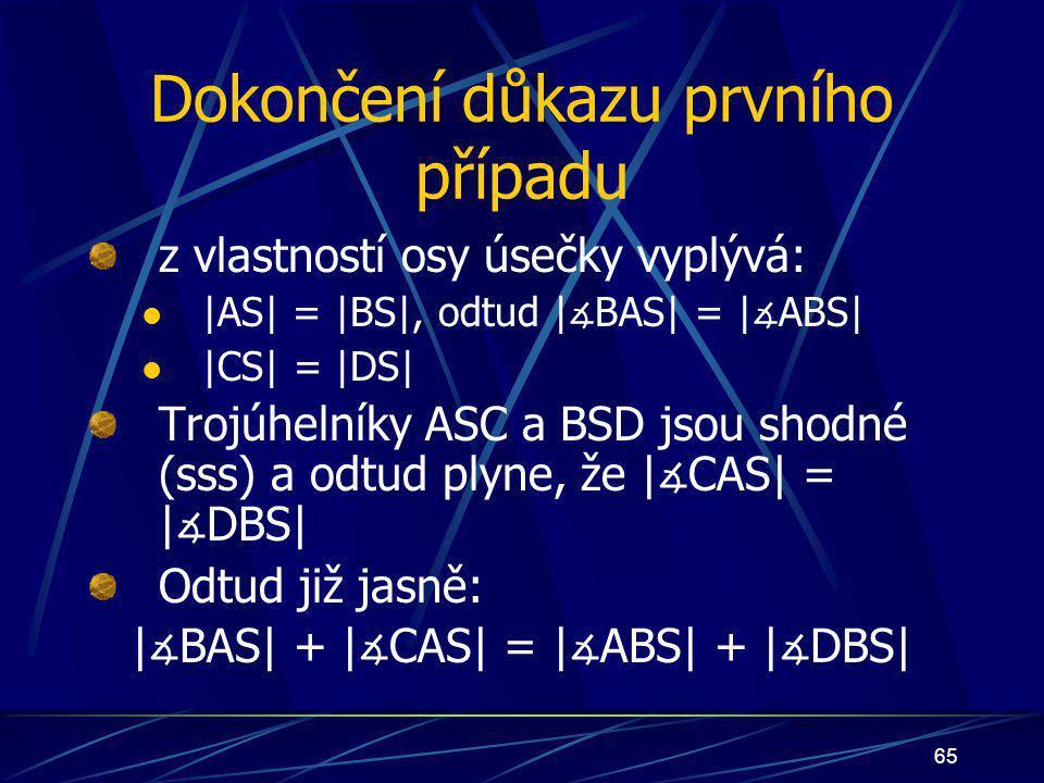64   ∡ CAS  =   ∡ DBS 