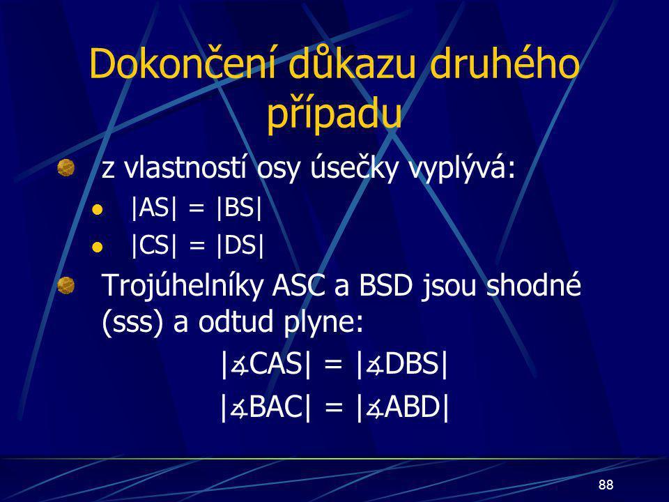 87   ∡ CAS  =   ∡ DBS 