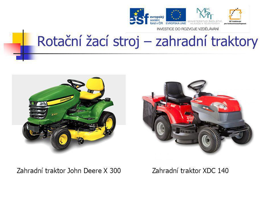 Zahradní traktor John Deere X 300Zahradní traktor XDC 140