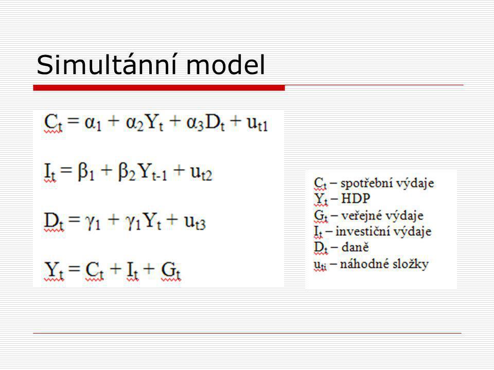 Simultánní model