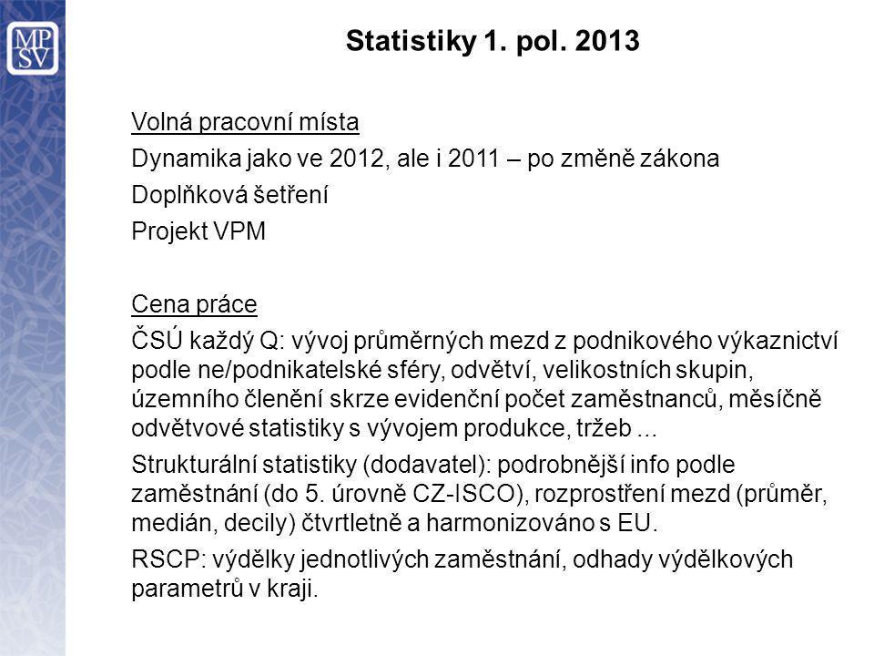 Statistiky 1. pol.