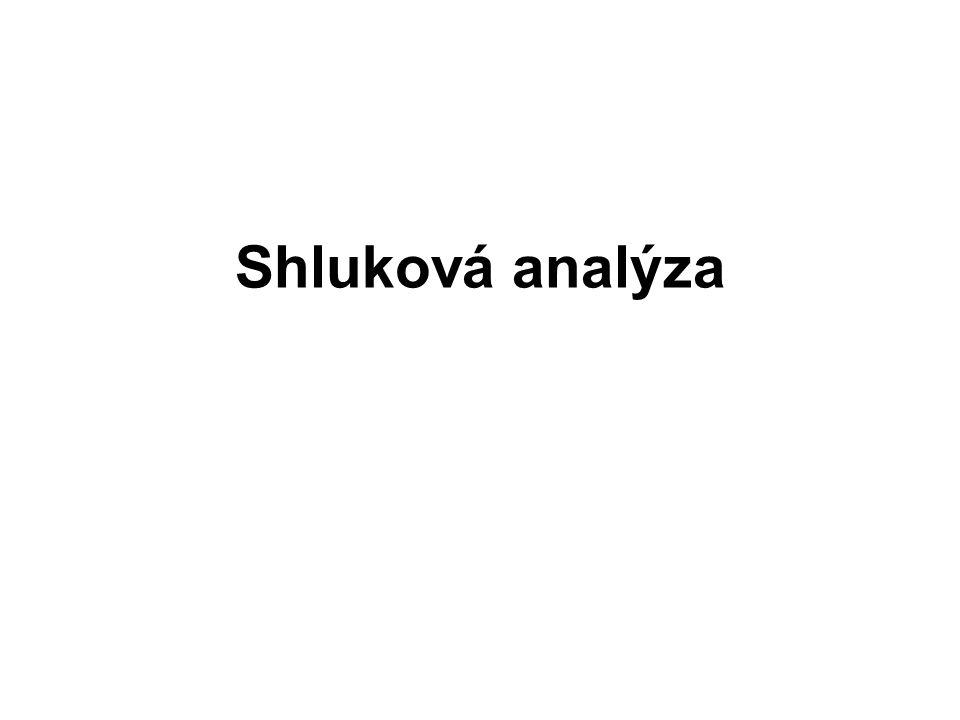 Shluková analýza v R life <- read.table( life.txt , header=T, row.names=1) plclust(hclust(dist(life), method= single ), labels=row.names(life), ylab= Vzdalenost )