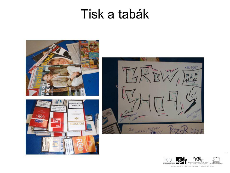 Použité pomůcky - obaly od zboží z domácnosti - papíry, psací potřeby,barevné tužky - informační letáky - kalkulačka