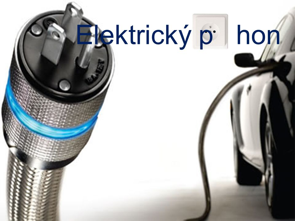 Elektrický p hon