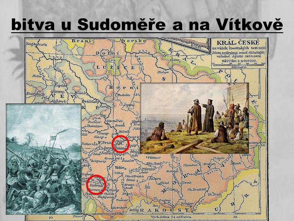 bitva u Sudoměře a na Vítkově