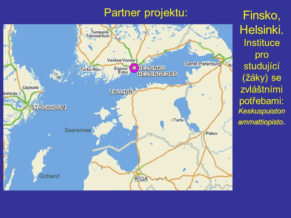 Partner projektu: Finsko, Helsinki.