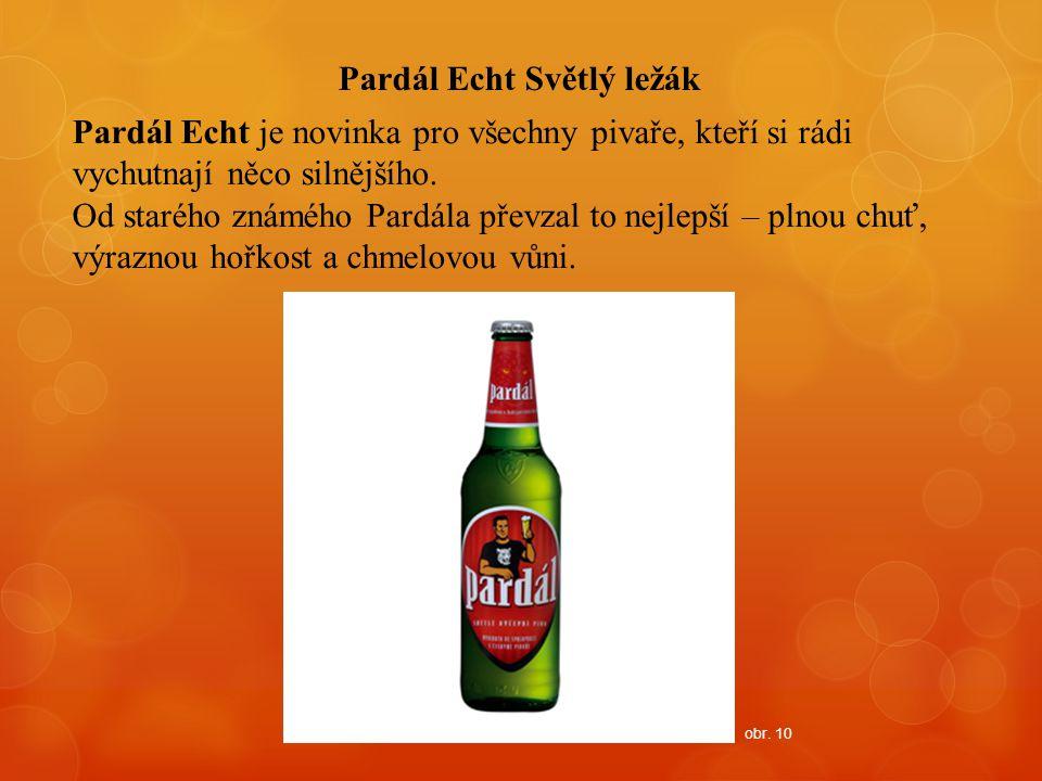 Pardál Echt Světlý ležák Pardál Echt je novinka pro všechny pivaře, kteří si rádi vychutnají něco silnějšího. Od starého známého Pardála převzal to ne