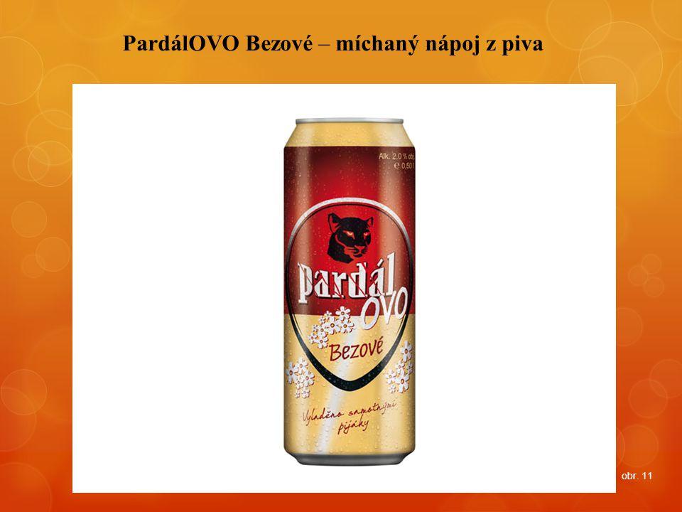 PardálOVO Bezové – míchaný nápoj z piva obr. 11