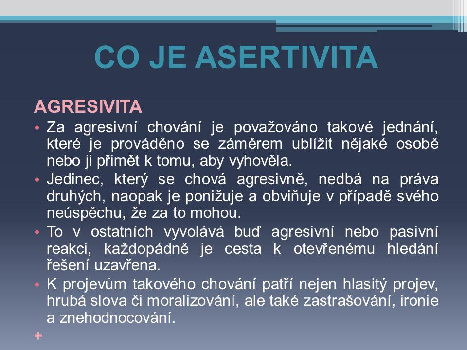 ASERTIVNÍ TECHNIKY 2.