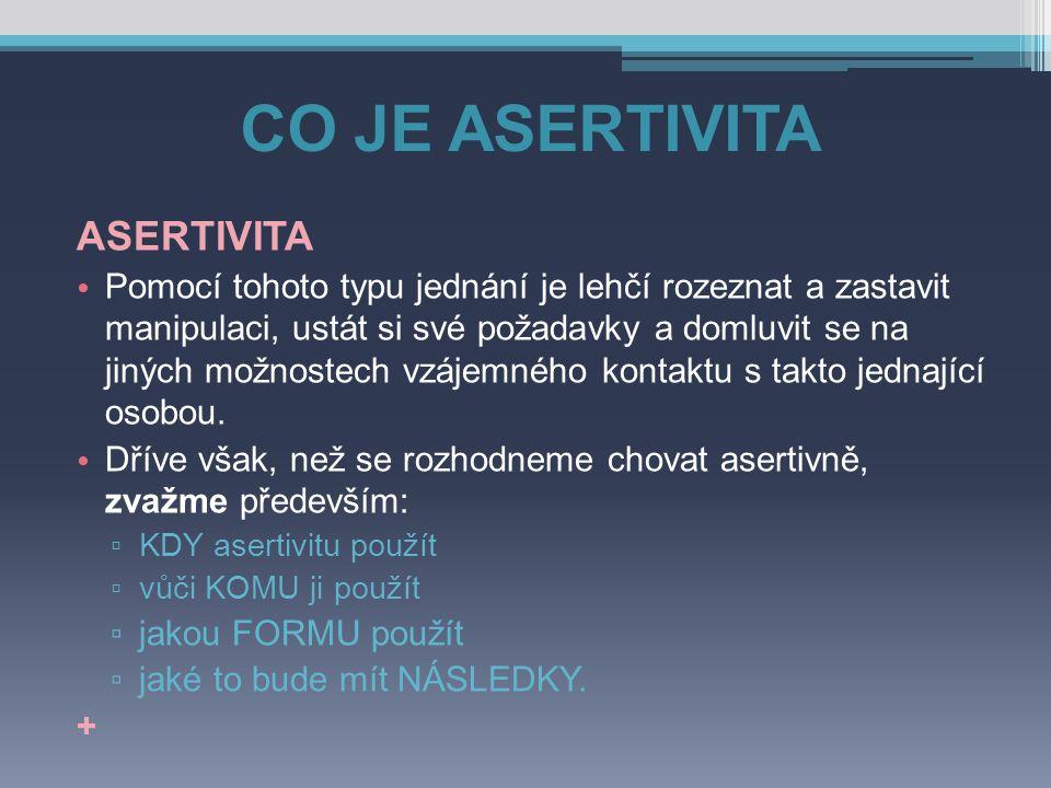 ASERTIVNÍ PRÁVA 6.