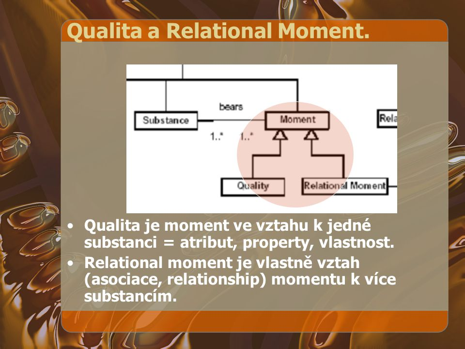 Qualita a Relational Moment.