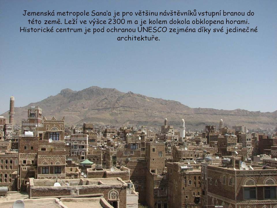 Jemen aneb Arabia Felix – Šťastná Arábie