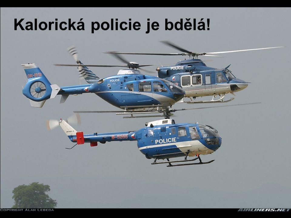 Kalorická policie je bdělá!