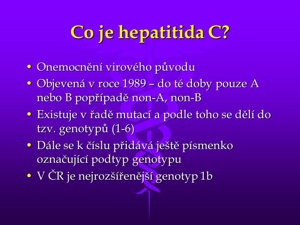 Co je hepatitida C.