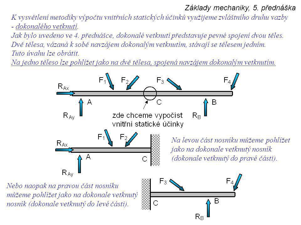 Základy mechaniky, 5.
