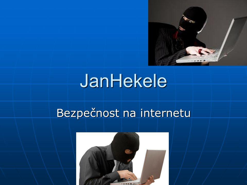 JanHekele Bezpečnost na internetu