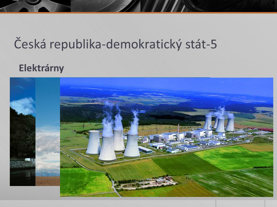 Česká republika-demokratický stát-5 Elektrárny