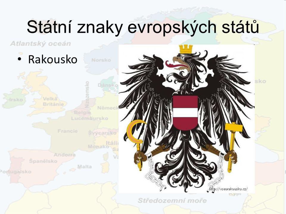 Státní znaky evropských států Rakousko