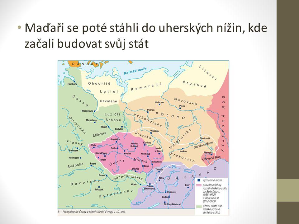 Maďaři se poté stáhli do uherských nížin, kde začali budovat svůj stát