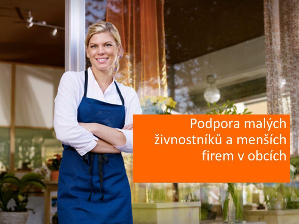 Podpora malých živnostníků a menších firem v obcích