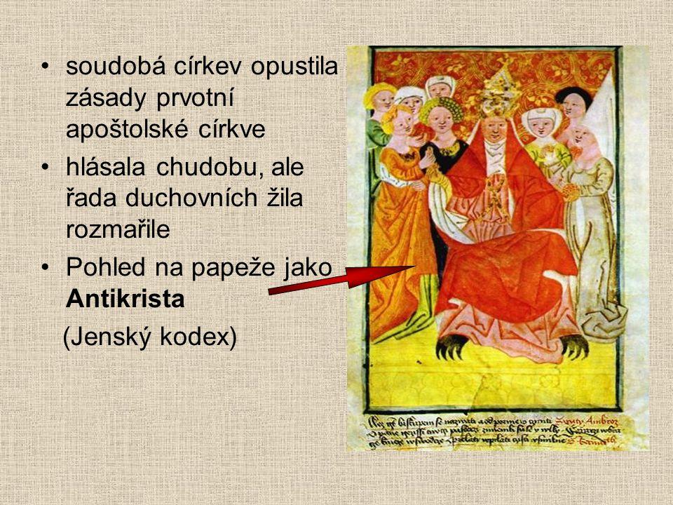 Čtyři artikuly (= články) pražské - 1420 univerzitní reformátoři sepsali hlavní zásady - společný program všech křídel hnutí: 1.