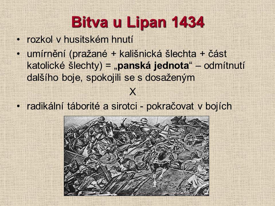 Basilejská kompaktáta po porážce u Domažlic 1431 nabídka na politické vyjednávání koncil v Basileji (Švýcarsko) - diskuse o 4 pražských artikulech kom