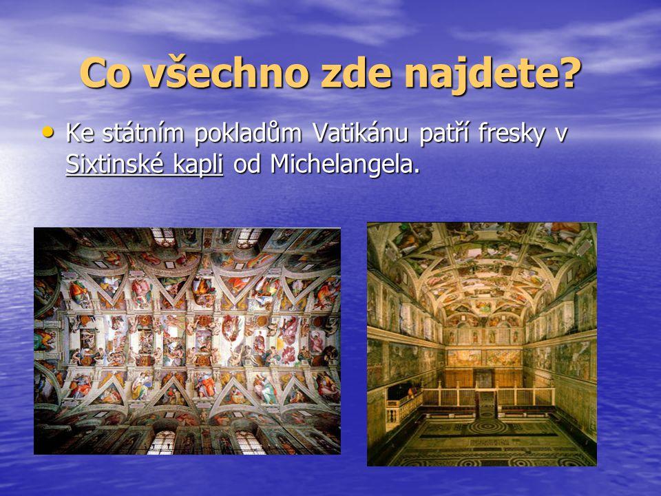 Mapa Evropy Kde vlastně Vatikán leží?