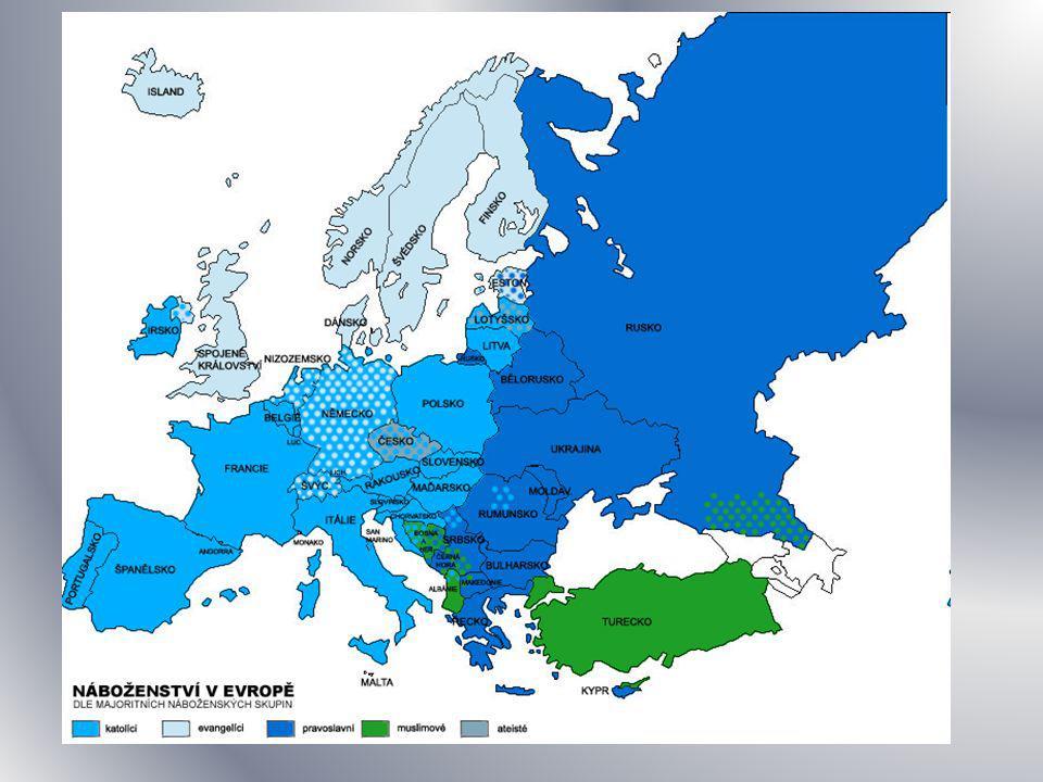Doplň převažující náboženství Rumunsko Chorvatsko Albánie Srbsko Bulharsko Černá hora Kosovo Atlas Str.