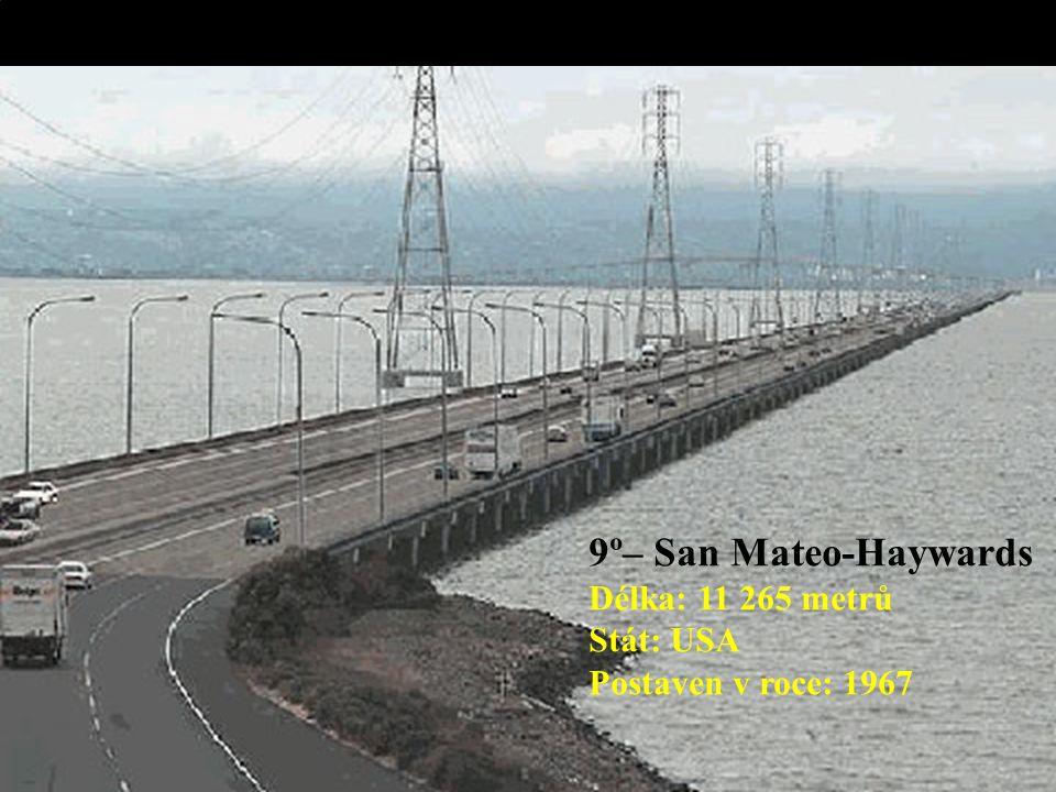10º – Seven Mile Délka: 10 887 metrů Pays: USA Postaven v roce: 1982