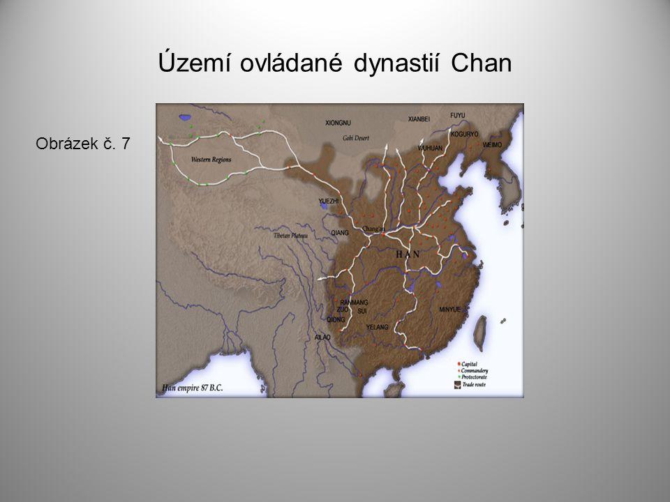 Území ovládané dynastií Chan Obrázek č. 7