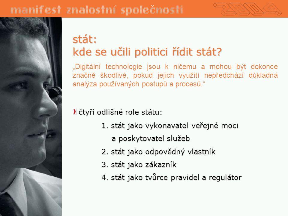 stát: kde se učili politici řídit stát.