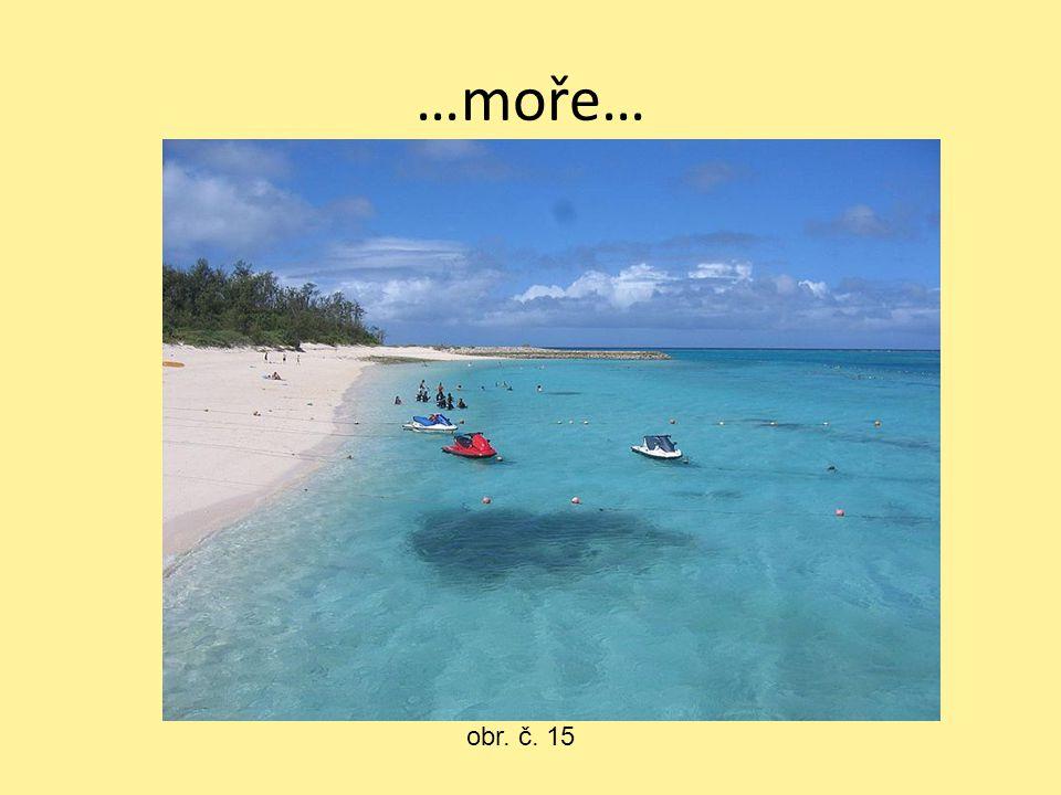 …moře… obr. č. 15