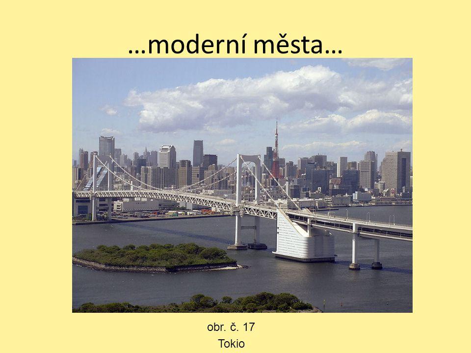 …moderní města… Tokio obr. č. 17