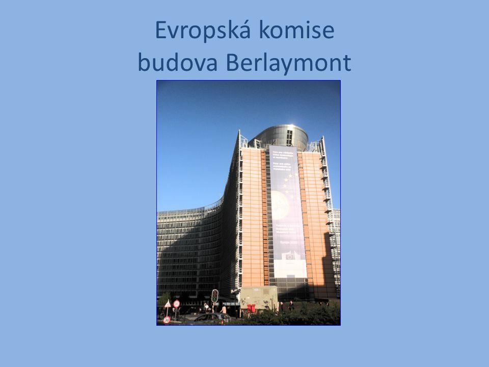 Evropská komise budova Berlaymont