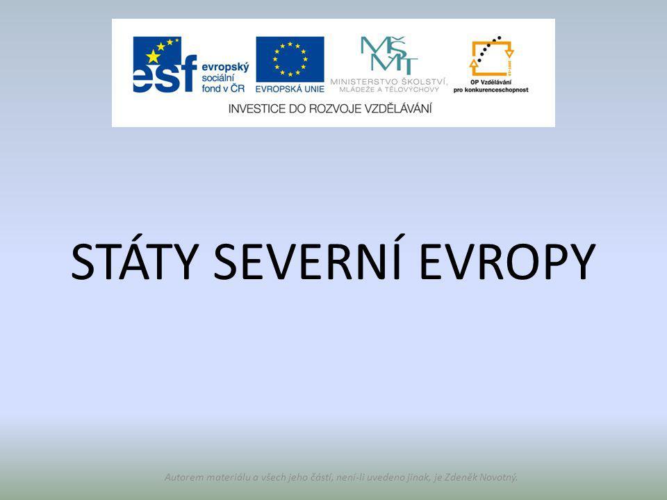 Číslo v digitálním archivu školyVY_32_INOVACE_Zem8_09 Sada DUMZeměpis 8 PředmětZeměpis Název materiáluStáty severní Evropy Anotace V prezentaci žák určuje polohu jednotlivých států.