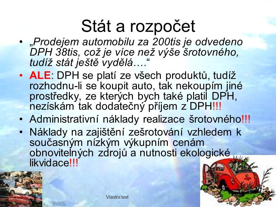 AAA K pokračování akce v České republice nás přiměl velký ohlas šrotovného na Slovensku, kde se díky němu zdvojnásobil prodej vozů v našich autocentrech, a také zkušenost s poskytováním šrotovného v České republice, uvedl ředitel prodeje skupiny AAA AUTO Petr Suchánek.