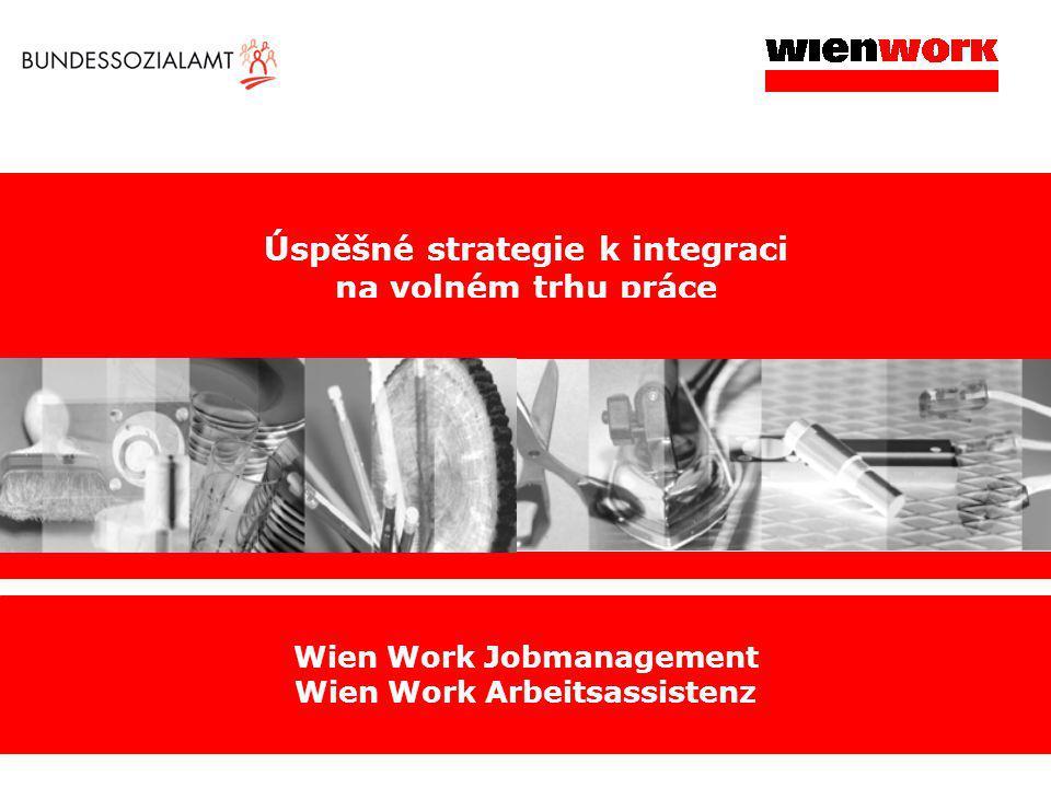 Úspěšné strategie k integraci na volném trhu práce Wien Work Jobmanagement Wien Work Arbeitsassistenz