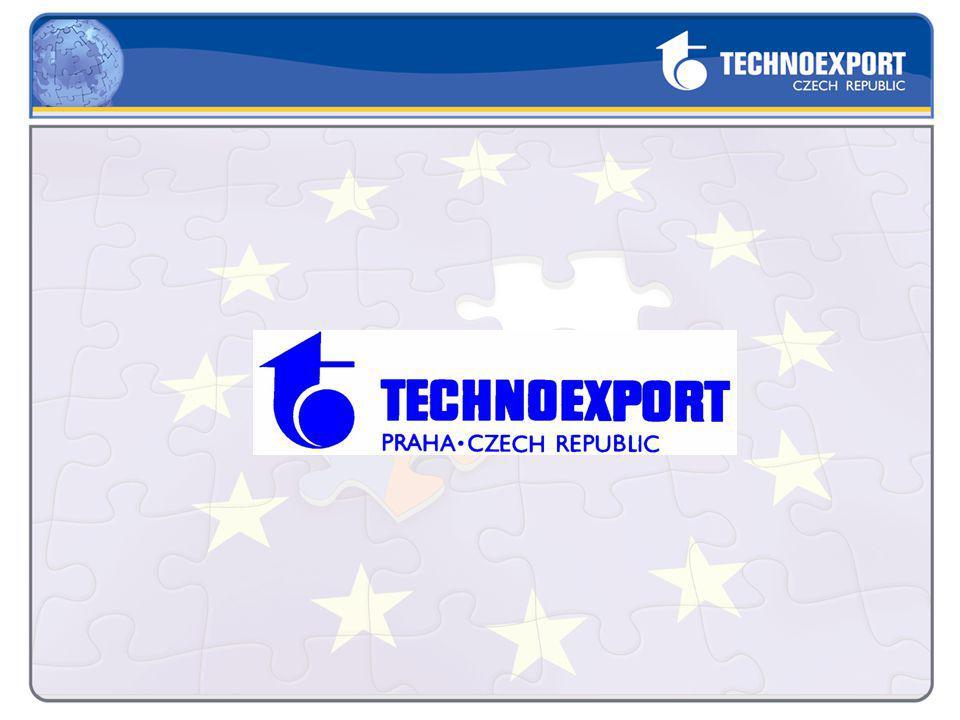 Technoexport poskytuje poradenství na přípravu a realizaci projektů napříč operačními programy Spolupráce s více než 300 klienty – podniky, obce, univerzity, ústavy akademie věd apod.
