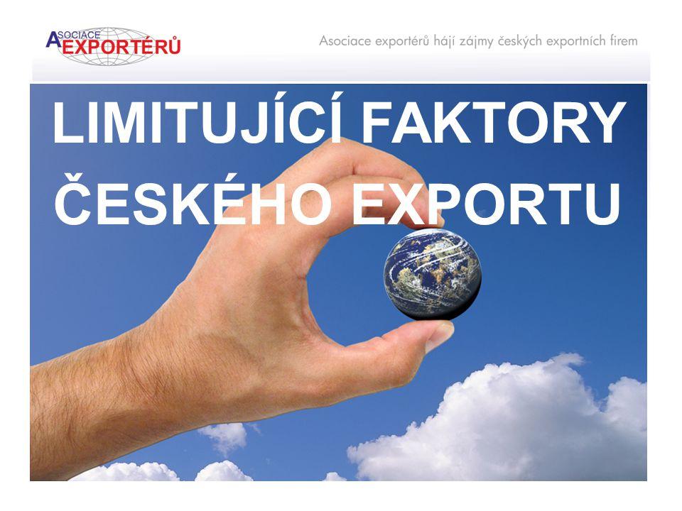 LIMITUJÍCÍ FAKTORY ČESKÉHO EXPORTU