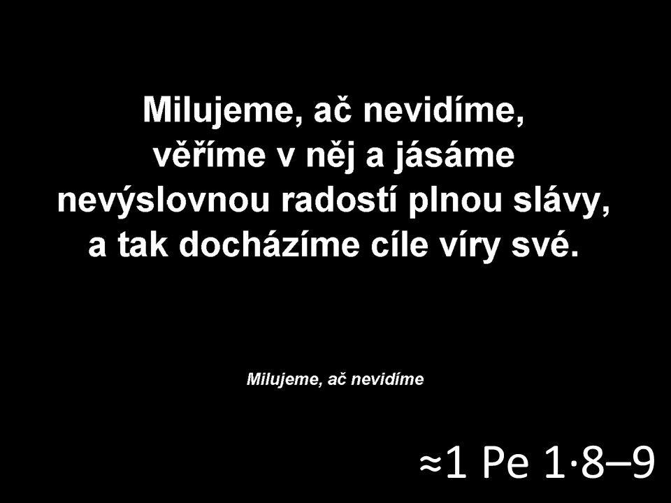 ≈1 Pe 1·8–9