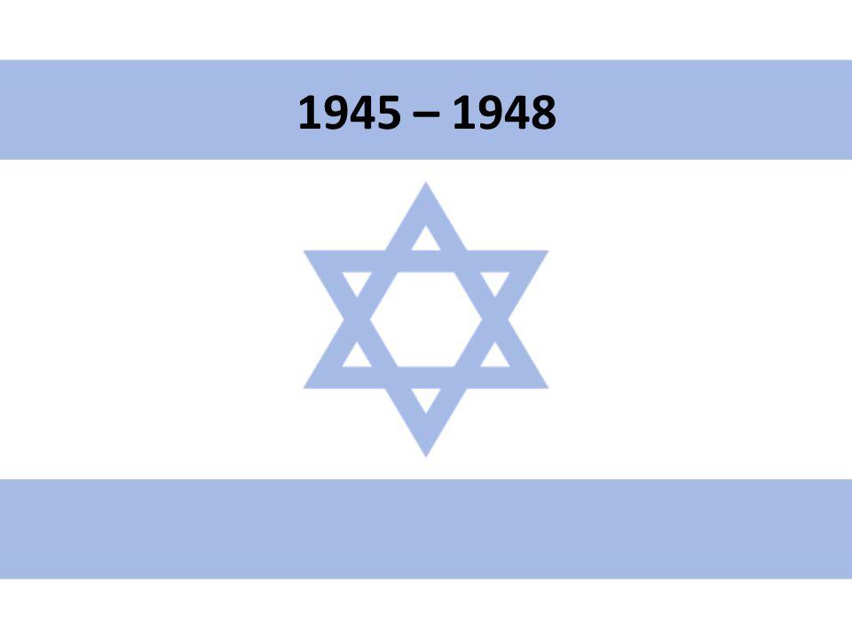 """1945 Založení Arabské ligy – cíle """"sjednocení islámu Nenávist a židovský teror vůči britské mandátní správě Earl G."""
