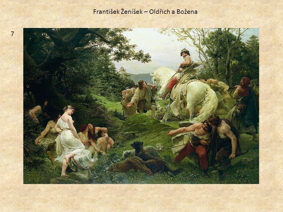 7 František Ženíšek – Oldřich a Božena