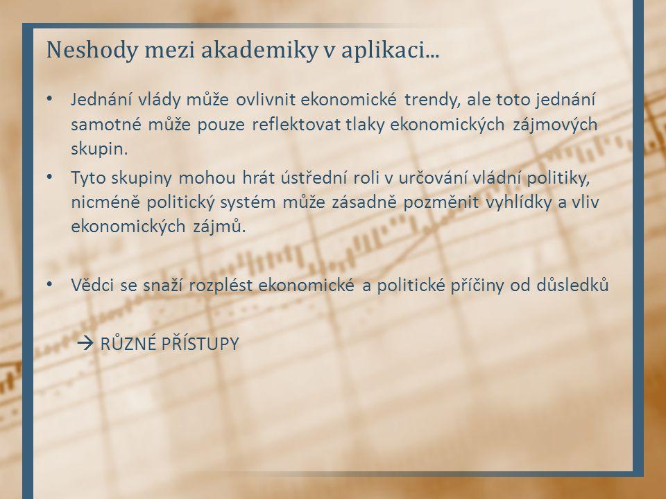 Neshody mezi akademiky v aplikaci...