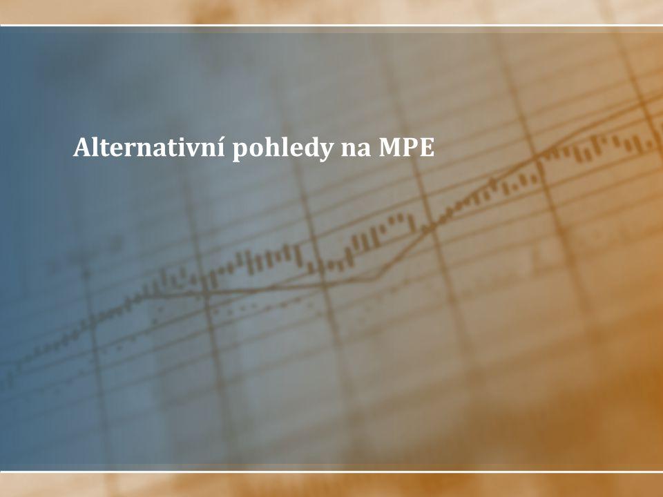 Alternativní pohledy na MPE