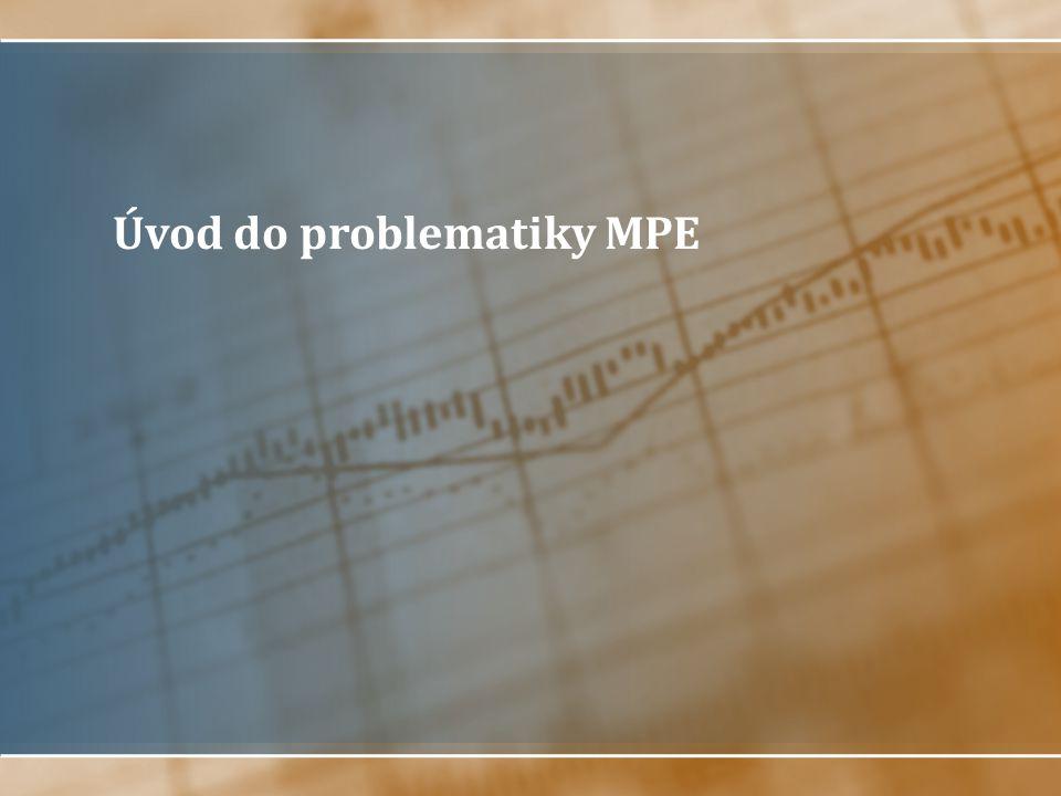 Úvod do problematiky MPE