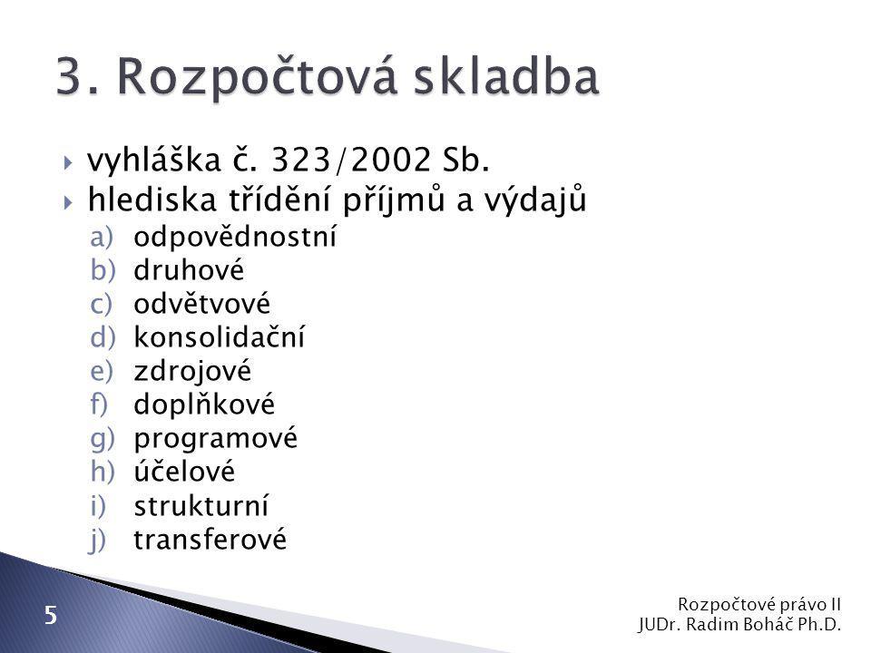  vyhláška č. 323/2002 Sb.