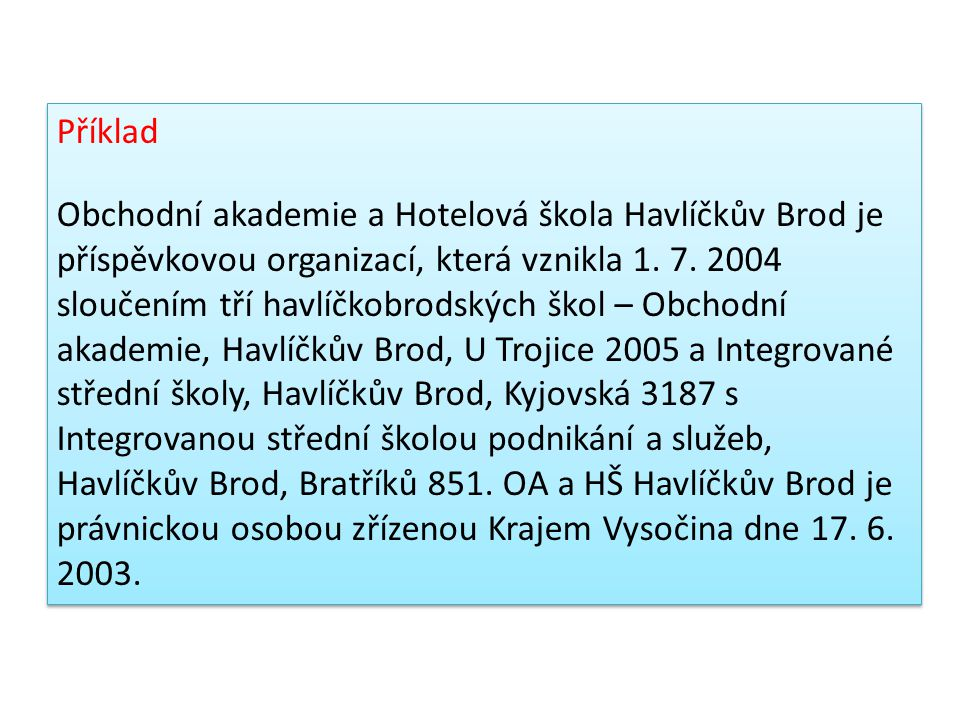 Zákon č.89/2012 Sb., občanský zákoník Účinnost od 1.
