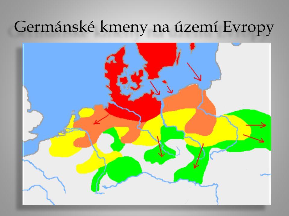 Germánské kmeny na území Evropy